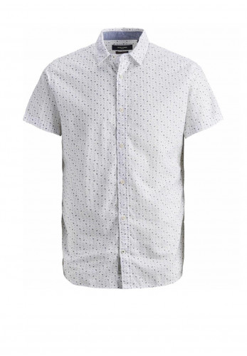 Jack & Jones Boys Summer Jackson SS Shirt, White