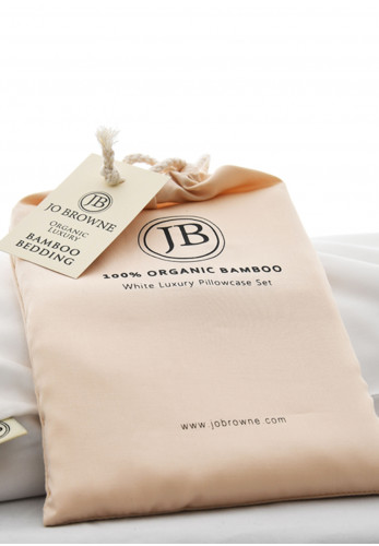 Jo Browne Luxury Pillowcase Set, White