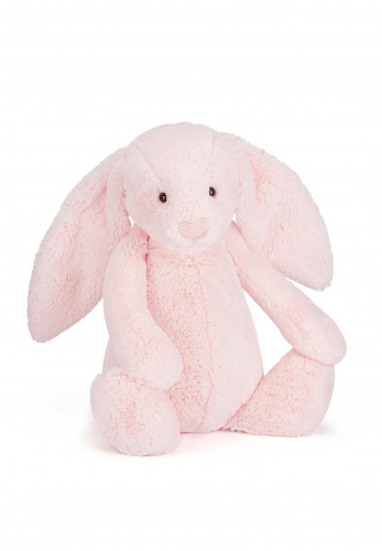 Jellycat Bashful Pink Bunny Soft Toy, Medium
