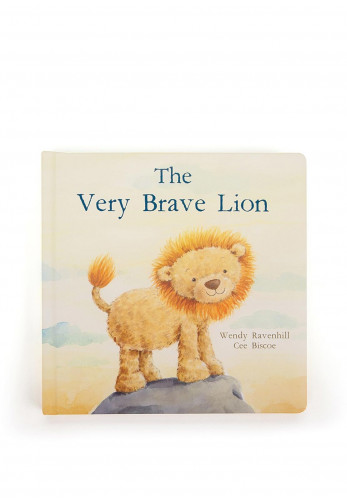 Jellycat The Very Brave Lion Storybook