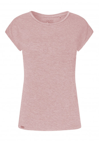 Jockey Marl Pyjama Top, Light Pink