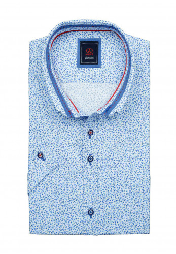 Andre John Long Sleeve Shirt, Blue
