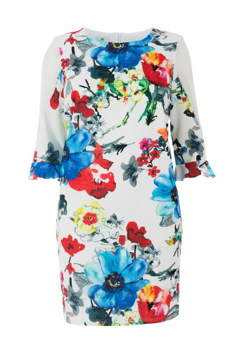 Jomhoy Fedra Floral Dress, Multi-Coloured