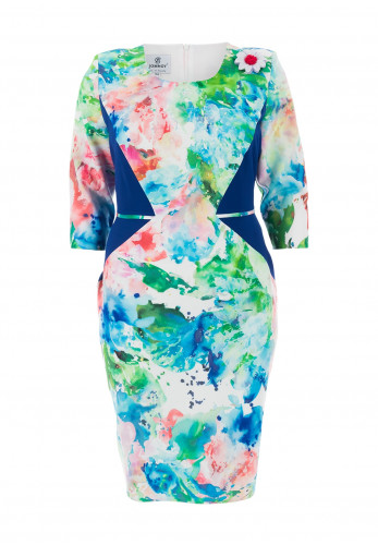 Jomhoy Victoria Abstract Print Dress, Multi