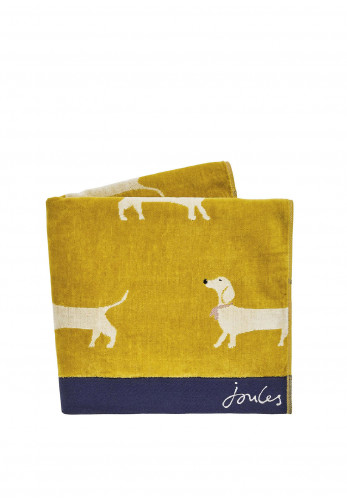 Joules Sausage Dogs Towels, Gold