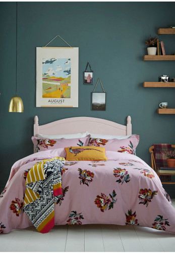 Joules Heritage Peony Duvet Cover, Lilac