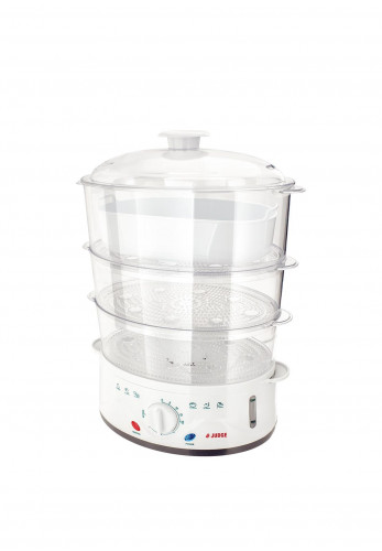 Judge 3 Tier Electric Steamer, White