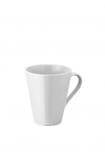 Judge Table Essentials Porcelain Tea Mug, White