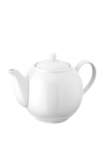 Judge Table Essentials Porcelain 6 Cup Teapot, White