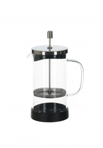 Judge Glass Cafetiere, Silver 925ml