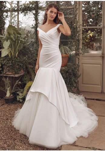 Justin Alexander 88137 Wedding Dress, Ivory
