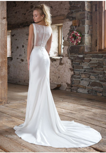 Sweetheart 1104 Wedding Dress UK Size 12, Ivory