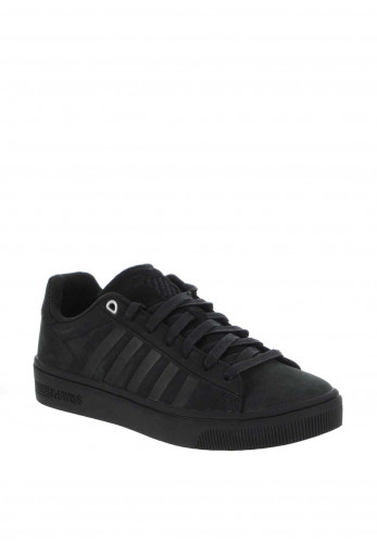 K. Swiss Court Frasco Leather Trainers, Black