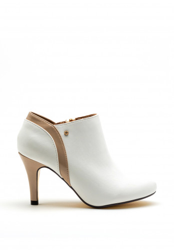 Kate Appleby Golspie Faux Leather Low Ankle Boot, White