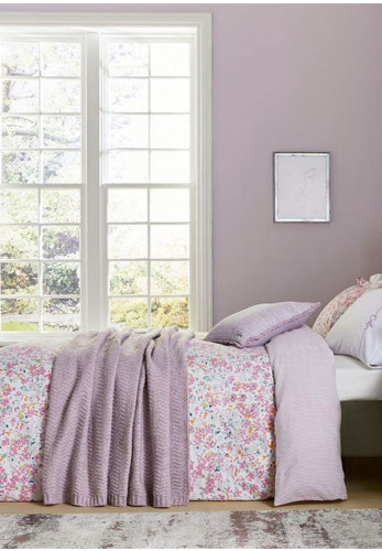 The Katie Piper Collection Calm Daisy Duvet Cover Set, Pink