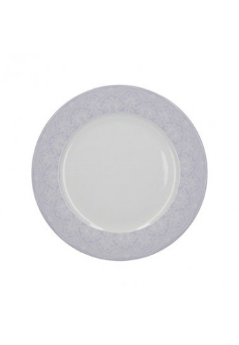 Katie Alice Wild Apricity Dinner Plate, Lace Grey