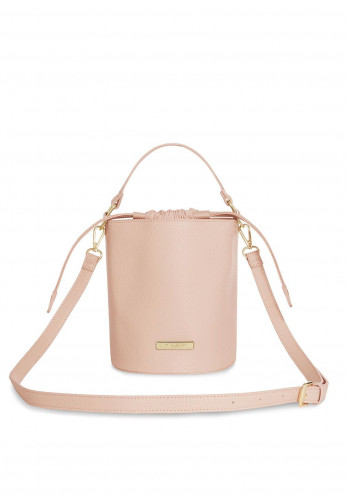 Katie Loxton Amara Crossbody Bucket Bag, Pink