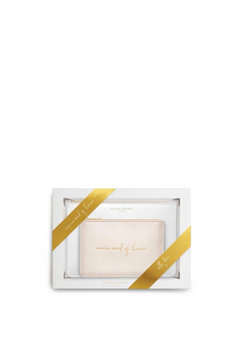 Katie Loxton Bridal Perfect Pouch Gift Set Beautiful Maid Of Honour, White
