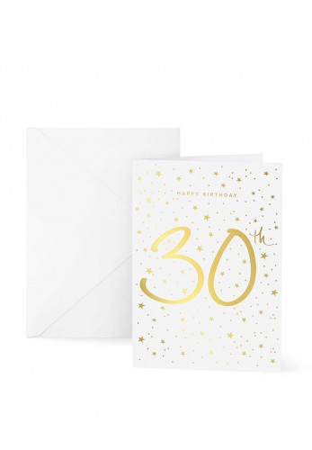 Katie Loxton 30th Birthday Card, 7x5
