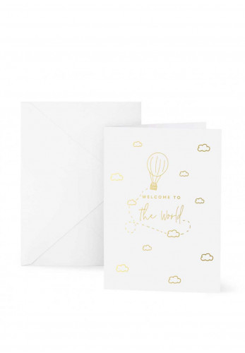 Katie Loxton 'Welcome To The World' Card, 7x5
