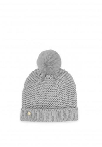 Katie Loxton Chunky Knit Hat, Grey