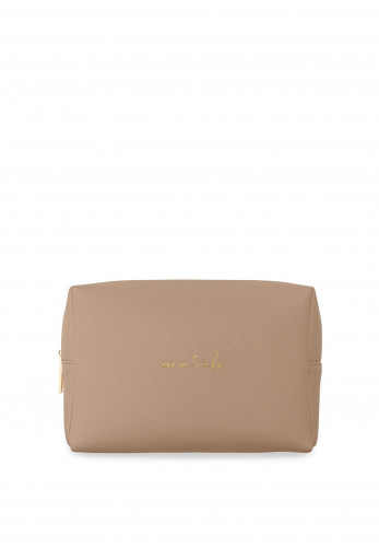 Katie Loxton Colour Pop Bag Of Tricks Wash Bag, Taupe