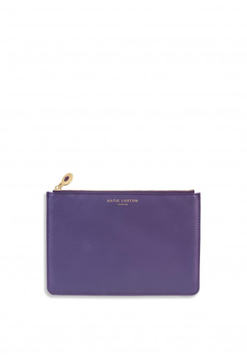 Katie Loxton Birthstone Perfect Pouch February, Purple