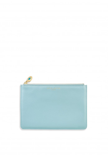 Katie Loxton Birthstone Perfect Pouch December, Duck Egg Blue