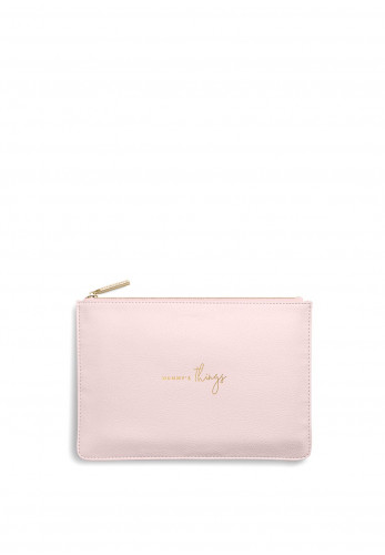 Katie Loxton Perfect Pouch 'Mummy's Things', Pink