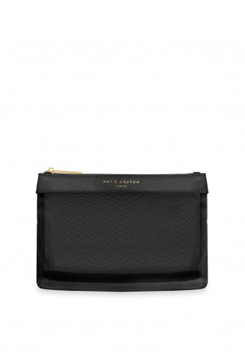 Katie Loxton Millie Gauze Make-Up Bag, Black