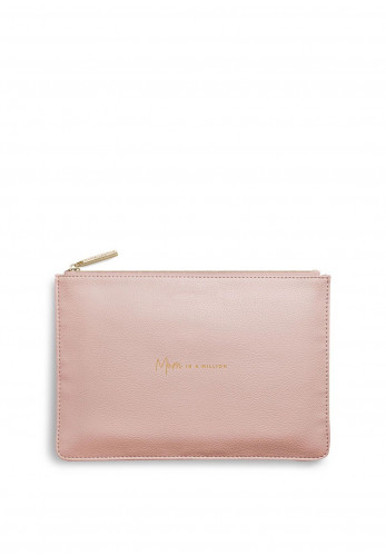 Katie Loxton Mum In A Million Perfect Pouch, Pale Pink