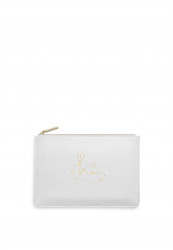 Katie Loxton Perfect Pouch 'Little One', Grey