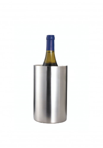 BarCraft Brushed Stainless Steel Wine Cooler