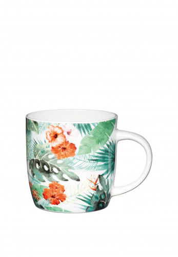 Kitchen Craft Palm Leaf China Mug
