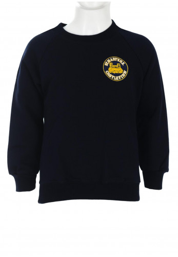 St Mary's N.S Castlefinn School Jumper, Navy