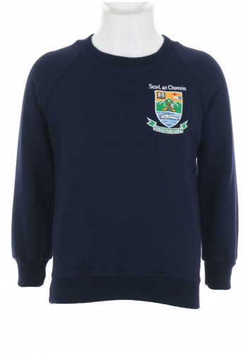 Scoil Naisiunta An Choimín School Jumper Navy, Medium