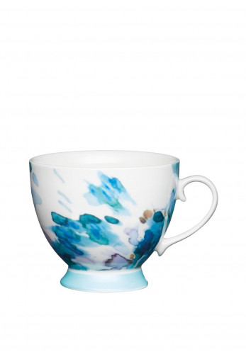 Kitchen Craft Painted Floral Large Mug