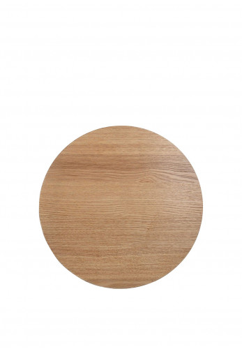 Creative Tops Natural Set of 4 Round Placemats, Wood