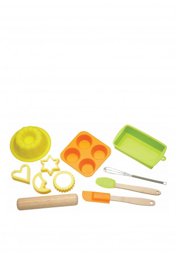 Kitchen Craft Let's Make Children 11 Piece Silicone Bakeware Set