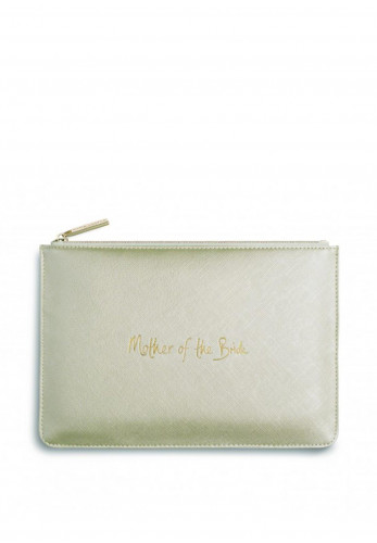 Katie Loxton Mother of the Bride Pouch Bag, Gold