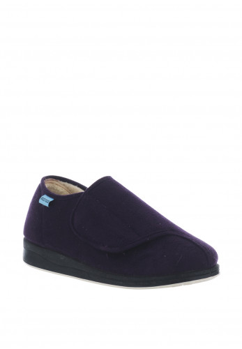 Kozitoze Tulip Velcro Slippers, Purple