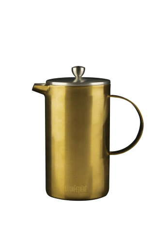 Edited by La Cafetiere Double Walled Gold Cafetiere