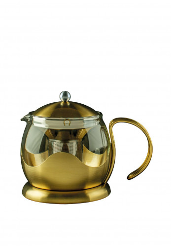 Edited by La Cafetiere Gold 4 Cup Teapot