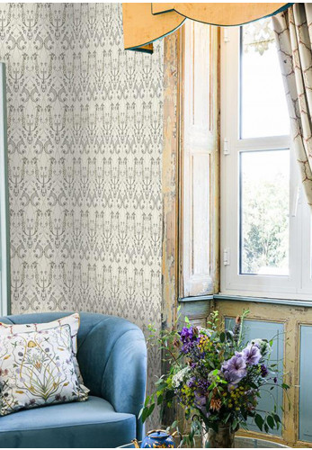 The Chateau Des Animaux Wallpaper, Off White