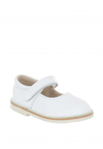 Lelli Kelly Girls Leather Velcro Strap Shoes, White