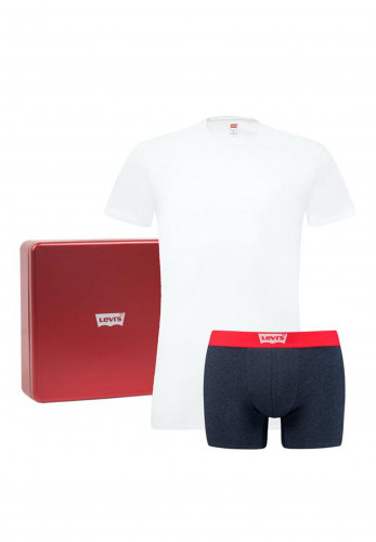 Levi's Crew T-Shirt & Boxer Brief Giftbox
