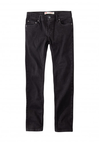 Levis Boys 519 Extreme Skinny Jeans, Faded Black