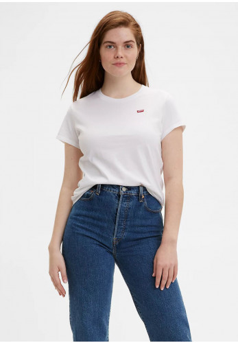 Levis® Womens Perfect Tee, White 0006