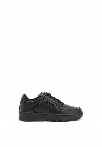 Levis Kids Union Lace Up Trainers, Black