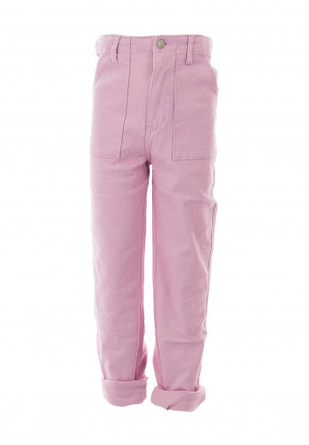 Levis Ribcage Straight Ankle Stretch Denim Jeans, Pink